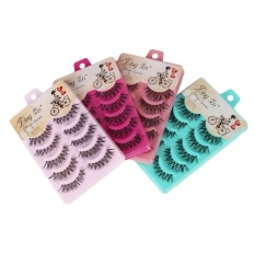 Bestprice-Natural Eye Lashes Extension Beauty Makeup Long Fake False Eyelashes Thick Soft - intl Philippines
