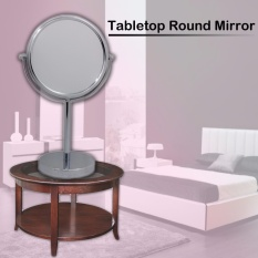 B.I.T. Makeup Round Circle Double-Sided Table Desktop Stand Mirror Philippines