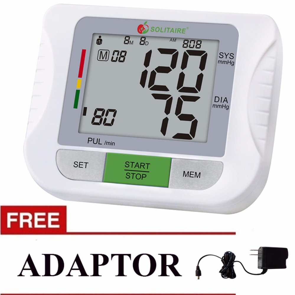 Blood Pressure Monitor with FREE Adaptor product preview, discount at cheapest price
