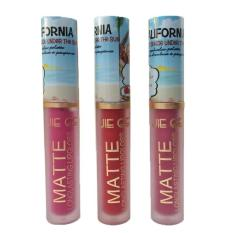 BUNDLE of  3 California Perfect Shade Long Lasting Waterproof Matte Lip Gloss Philippines