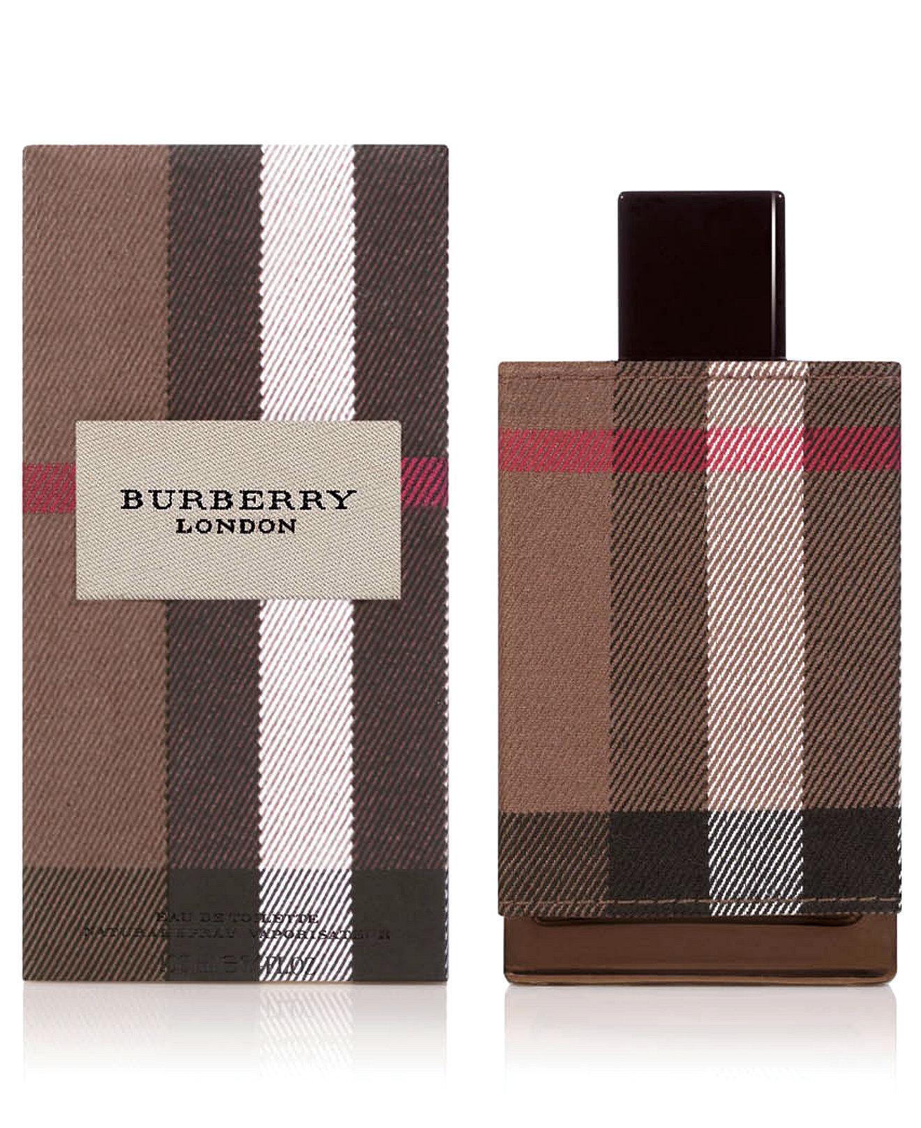 Burberry London Fabric Eau De Toilette for Men 100ml