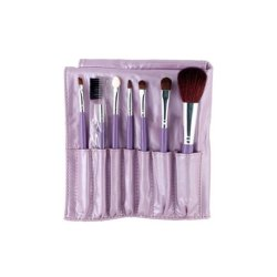 Butterfly Knot Makeup Brushes Set Purple (7pcs)
