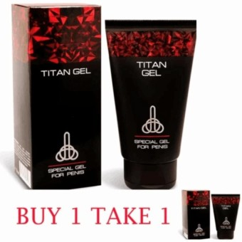 Buy One Take One Sealed Titan Gel Lubricant with Instructional Manual inside 50ml
