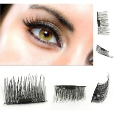 6cd8b3a4f48 BUYINCOINS 4 Pcs/2 Pairs 3D Magnetic False Eyelashes Reusable Natural Eye  Lashes Extension Handmade