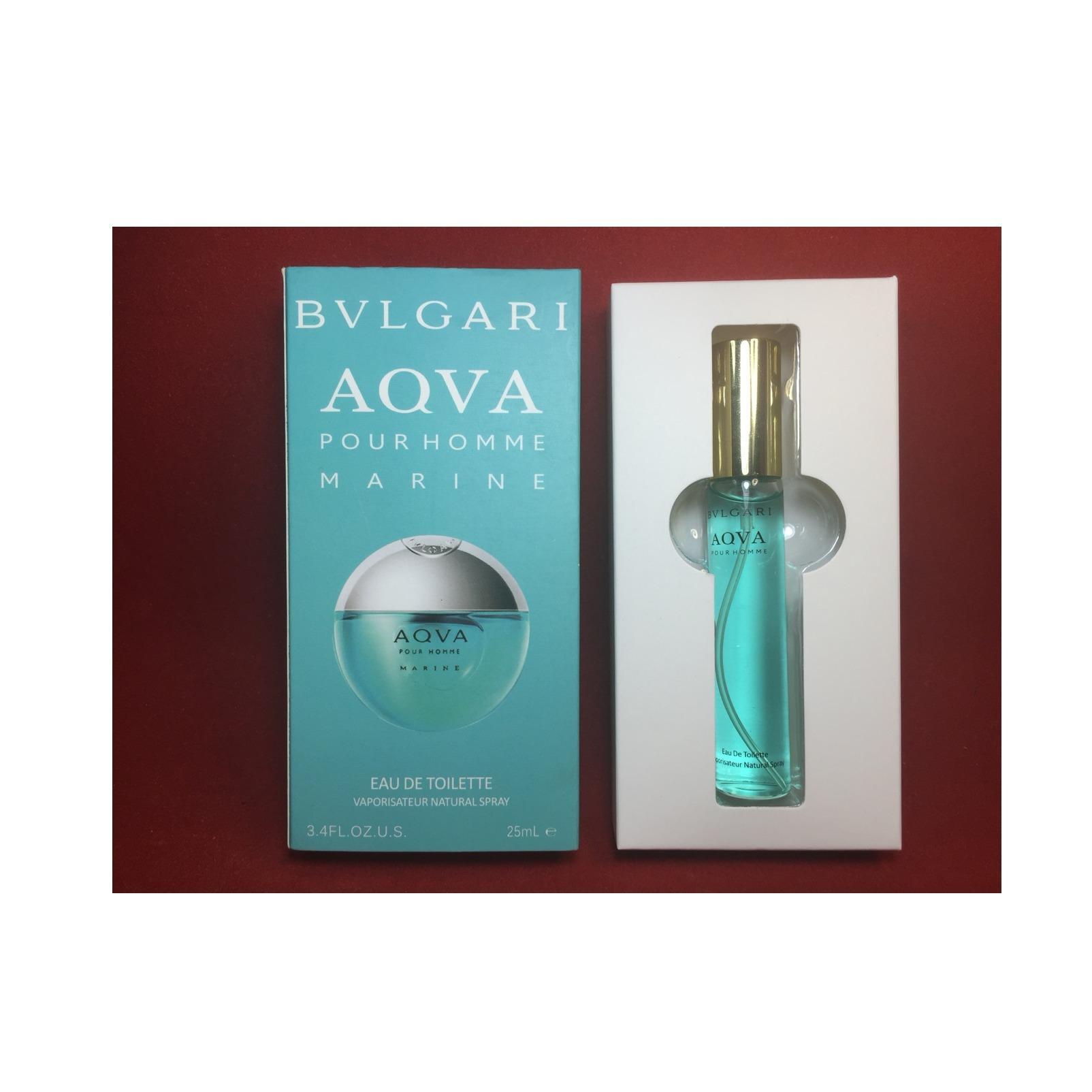Bvlgari Aqva Marine Pour Homme Eau de Toilette for Men Travel Size - 25ml - thumbnail