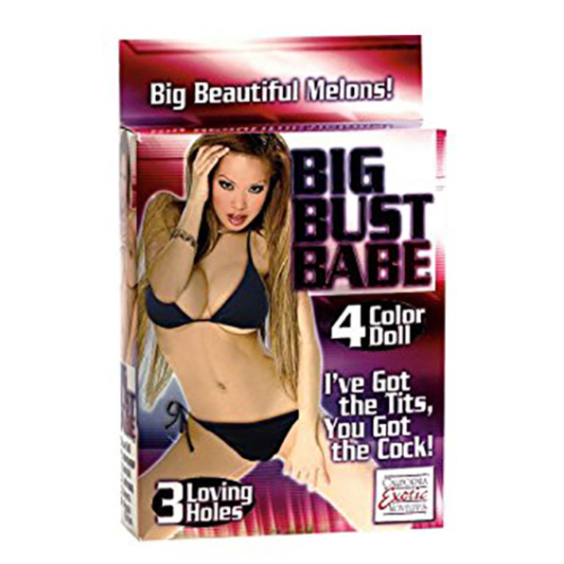 California Exotic Novelties  Big Bust Babe Love Doll (Beige)