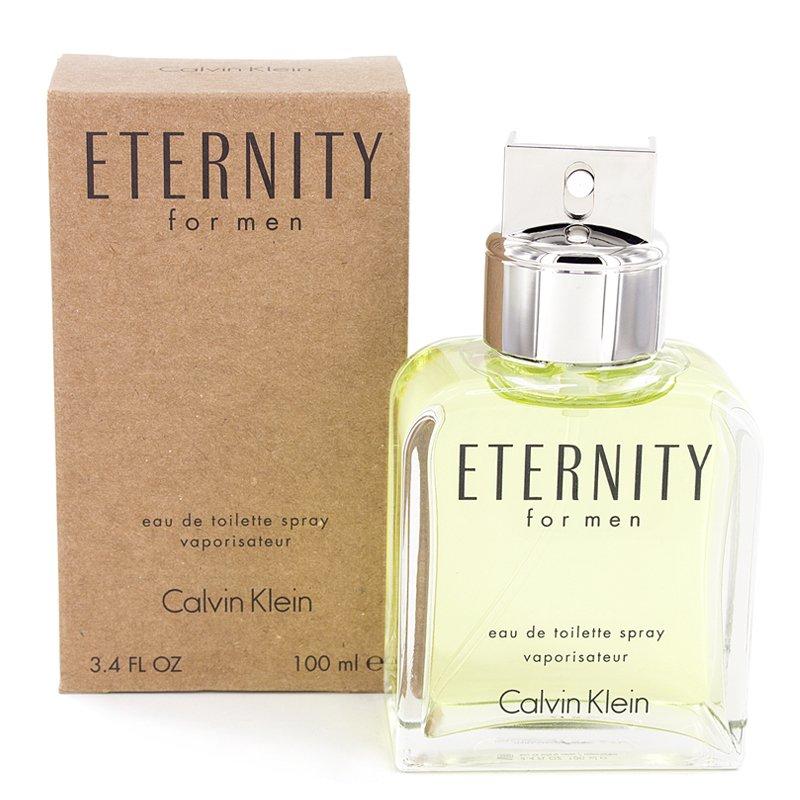 Calvin Klein Eternity Eau De Toilette for Men 100ml (Tester) - thumbnail