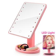 Candy Online 360 rotation Large LED Mirror With Lights (Pink) Philippines
