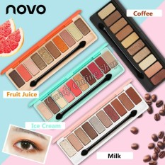 Candy Online Korea NOVO 10 Colors Eye Shadow Palette #5135 Philippines