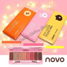 Candy Online Korea NOVO 8 Colors Eye Shadow Palette #5187 Philippines