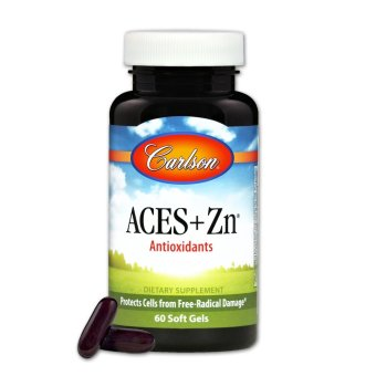 Carlson ACES + Zn Bottle of 60 Soft Gels