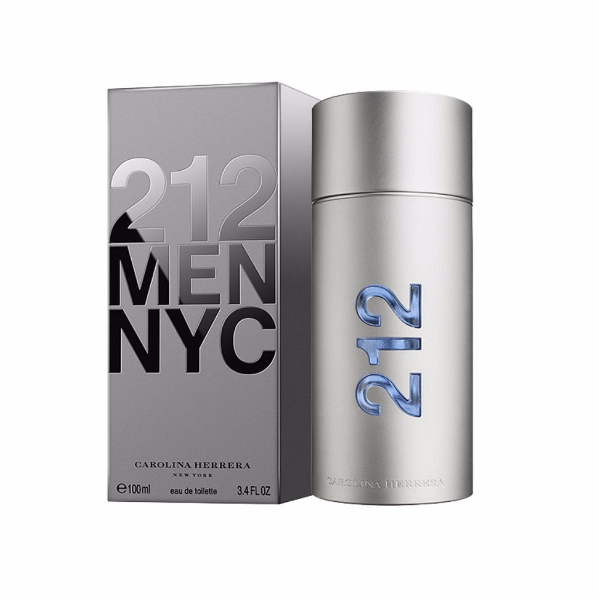 Carolina Herrera 212 Men NYC Eau De Toilette 100ml - thumbnail