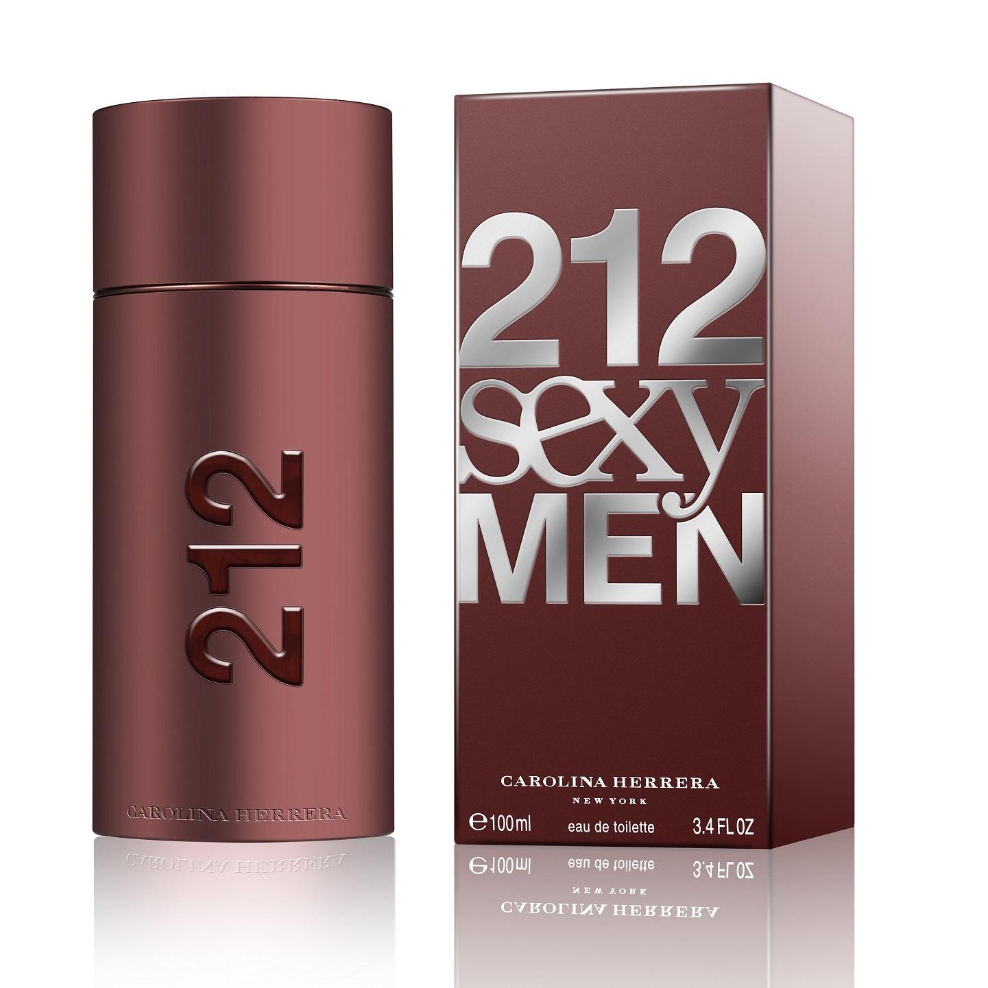 Carolina Herrera 212 Sexy Men Eau De Toilette 100ml