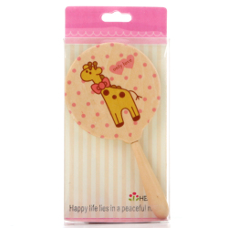 Cartoon Mirror Bow Giraffe