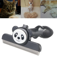 Cat Dog Short Hair Long Hair Removal Pet Grooming Brush Comb Shedding Rake Tool - intl Philippines