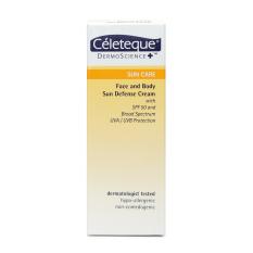 Celeteque Sun Care Face And Body Sun Defense Cream 120 Ml By The Sm Store.