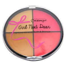 Cherimoya Max Make-up Girl Next Door 4-Toned Mineral Blush & Bronzer (Sugar & Spice) Philippines