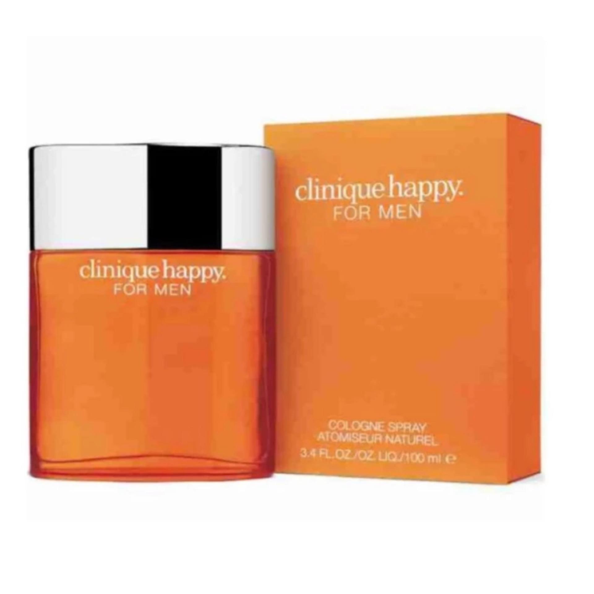 Clinique Happy Cologne Spray Eau De Toilette Perfume for Men 100m - thumbnail