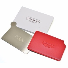 Coach VIP Gift Stainless Steel Compact Mirror (Red) 38g Philippines
