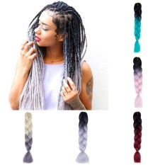 Colorful Hair Synthetic Jumbo Braiding Hair Extension Afro Twist Braids - Intl By Michelle Trading.