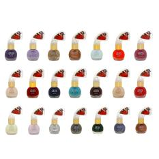 Colour Prevails Nail Polish - Set Of 21 Unique Colours By American Beauty Ph.