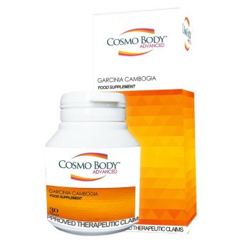 Cosmo Body Advance Garcinia Cambogia Bottle of 30 (Orange)
