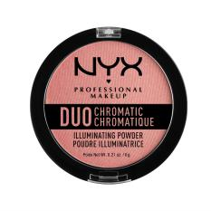Nyx Professional Makeup DCIP03 Duo Chromatic Illuminating Powder - Crushed Bloom Philippines