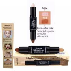 Defining Duet Stick Concealer Highlight and Contour YANQINA 2in1  No. 01-Ivory Philippines