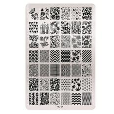 DIY Nail Art Image Stamp Stamping Plates Manicure Template D - intl Philippines