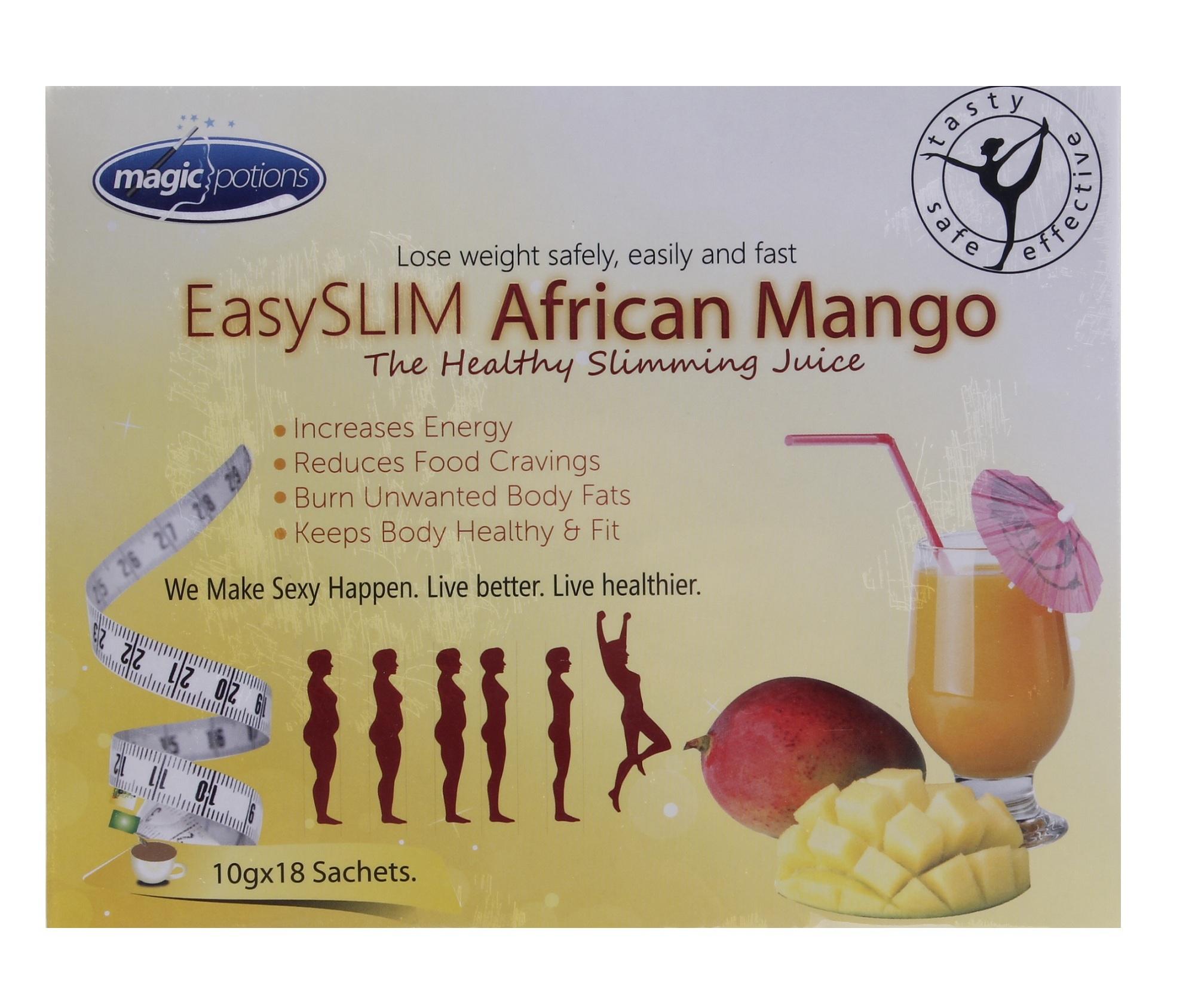 Easyslim African Mango Slimming Juice 10g Sachet, Box of 18