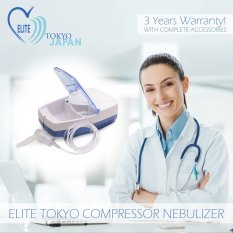 Elite Tokyo Japan Nebulizer Compressor (with 3 Years Warranty!) By Medical Supplies Philippines.