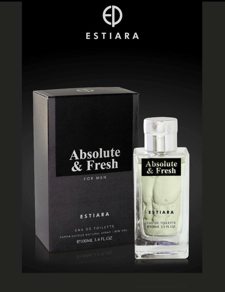 Estiara Absolute & Fresh Eau De Toilette For Him 100ml with Free Vial Travel Size 10ml Eau De Parfum