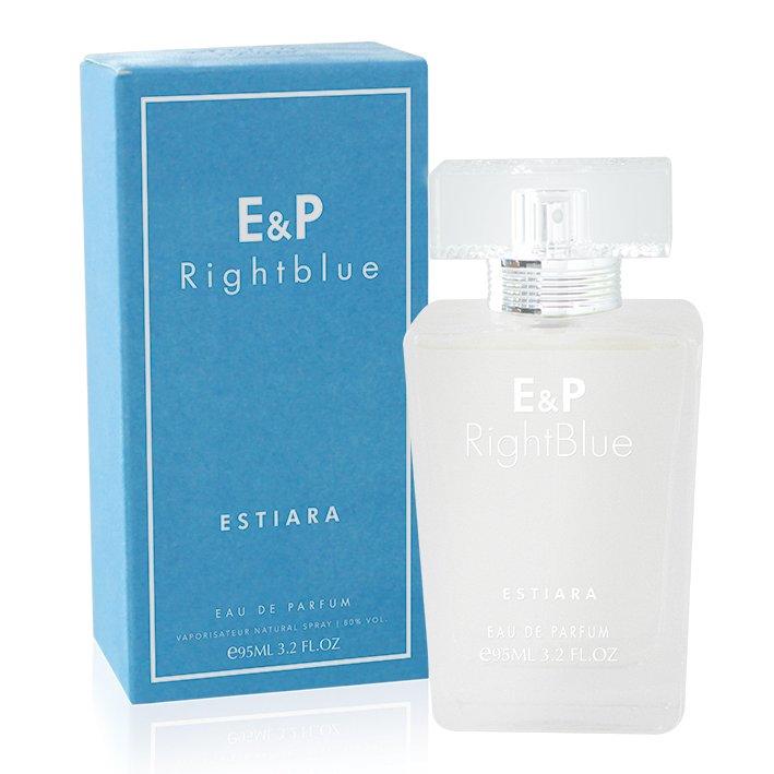 Estiara E & P Right Blue Eau De Parfume For Her 95ml with Free Vial Travel Size 10ml Eau De Parfum
