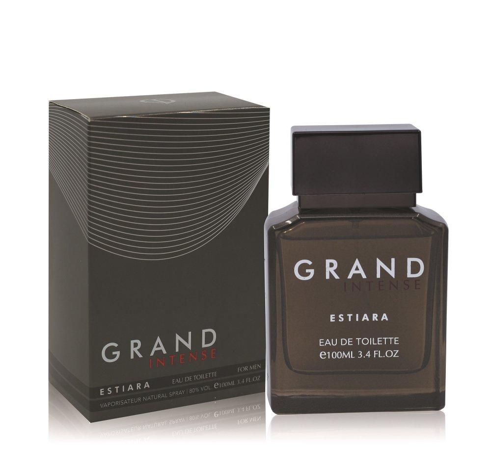 Estiara Grand Intense Eau De Toilette For Him 100ml with Free Vial Travel Size 10ml Eau De Parfum