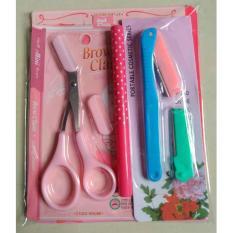 Eyebrow Drawing Guide with Eyebrow Pen Eyebrow Pencil Eyebrow Grooming Kit Set Philippines