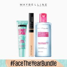 #FaceTheYearBundle: 20 Sand Fit Me Concealer + Micellar Water + Pore Eraser Primer Philippines