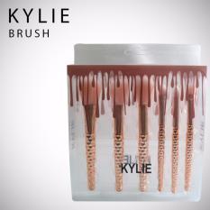 Fashion 6pcs KY Professional Soft Make Up Brush Set - Gold