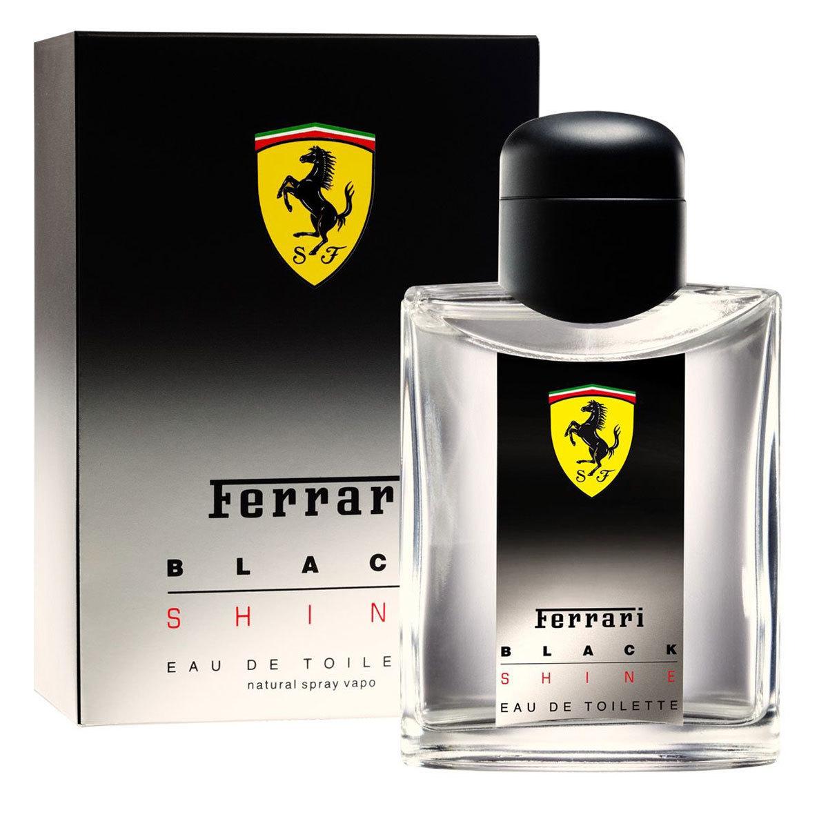 Ferrari Black Shine Eau De Toilette for Men 125ml
