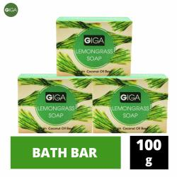 Giga Lemongrass Soap 100g Set of 3