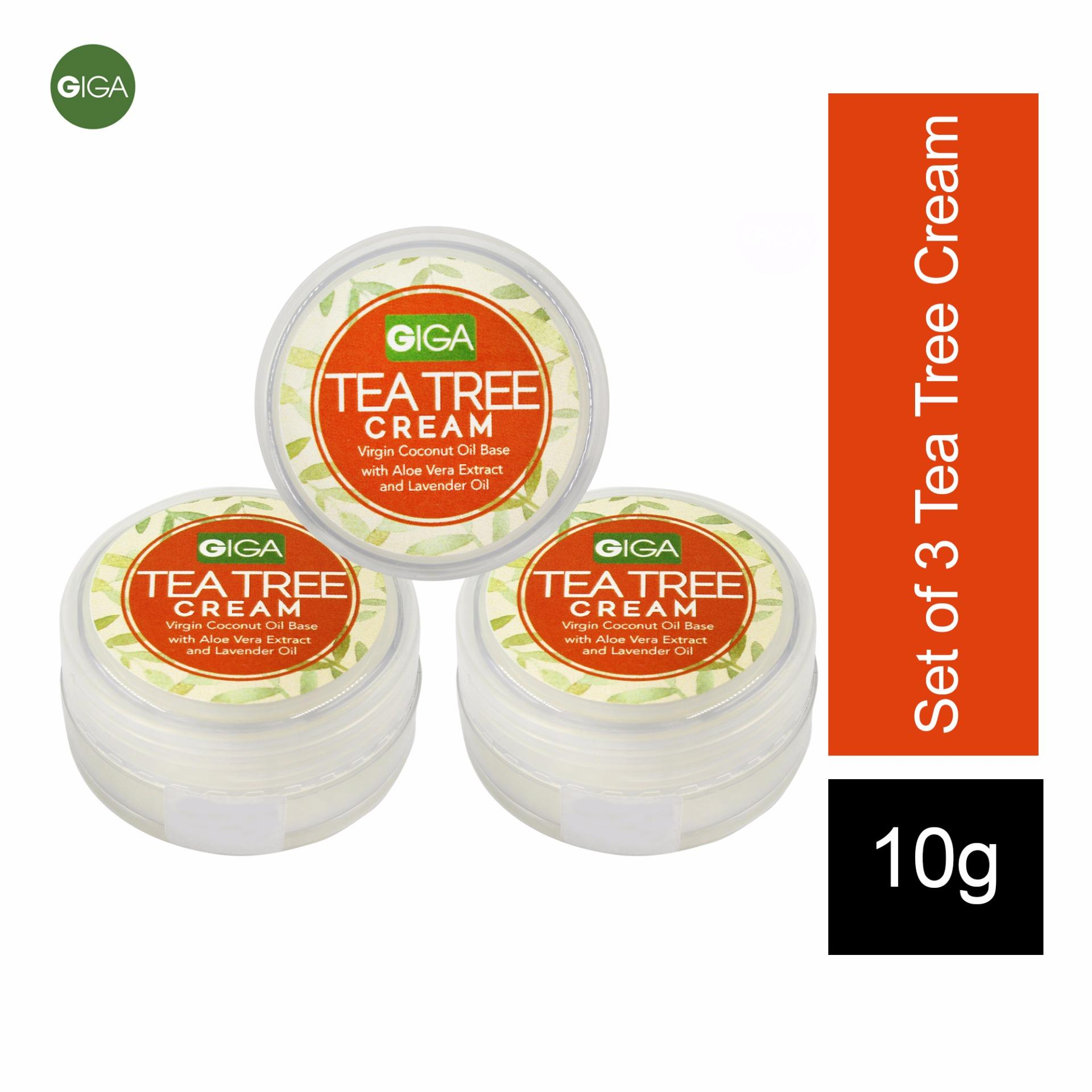 Giga Tea Tree Cream 10g Set of 3