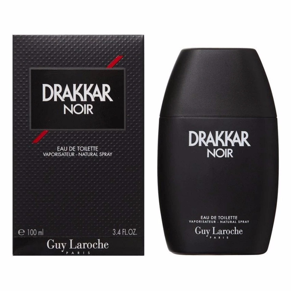 Guy Laroche Drakkar Noir Eau De Toilette for Men 100ml product preview, discount at cheapest price