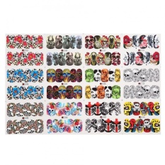 Halloween Transfer Nail Art Sticker Polish Decal Manicure Decoration Accessory 1# - intl Philippines
