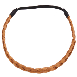 HANG-QIAO Synthetic Hair Bands (Light Brown)