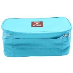 Hanyu Travel Bag Underwear Bra Arrange Package Blue
