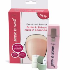 HB Micro Nail Electric Nail Polisher (Smooths, Buffs & Shines) Philippines