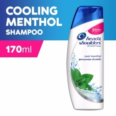Head & Shoulders Cool Menthol Shampoo 170ml By Lazada Retail Head & Shoulders.