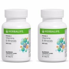 Herbalife Formula 2 Vitamins and Minerals Set of 2