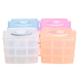 HKS Nail Care Make Up Jewelry Storage Box (Intl)