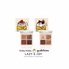 HOLIKA HOLIKA Gudetama Lazy & Joy Cupcake Eye Paltte Shadow 6g 2 Color (#2 Tiramisu) - intl Philippines