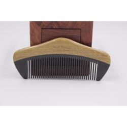 Hua Mulan OXGSW YH9-4 Ox Horn and Sandalwood Comb